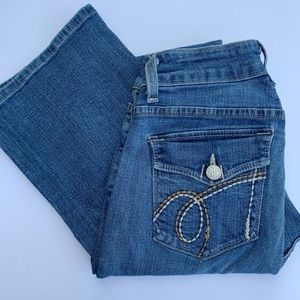 NYDJ Boot Cut Jeans Size 4 Decorative Pockets
